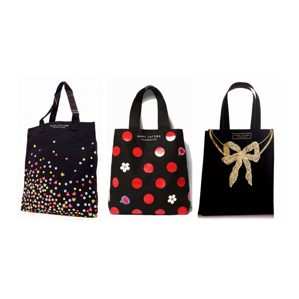 618f0e51d3 Genuine Marc by Marc Jacobs Fragrance Tote Bag Worth $79 GWP | Shopee  Singapore