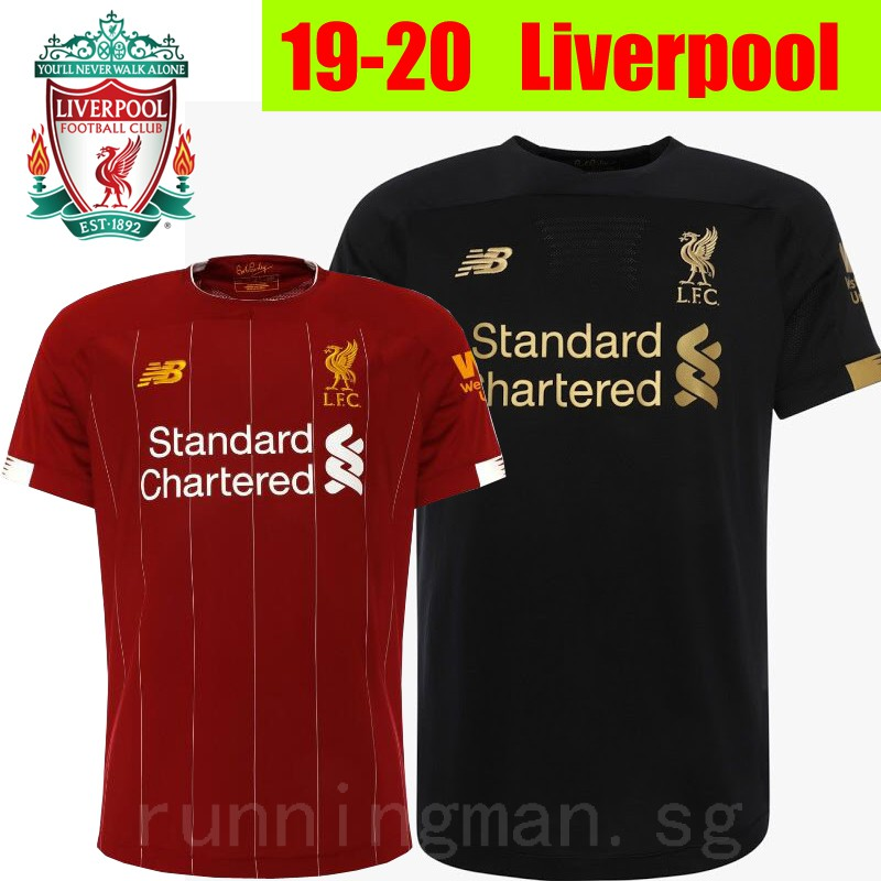 on sale 8f3a6 99de5 19/20 Newest Top Quality Liverpool home Soccer top Men Football Jersey