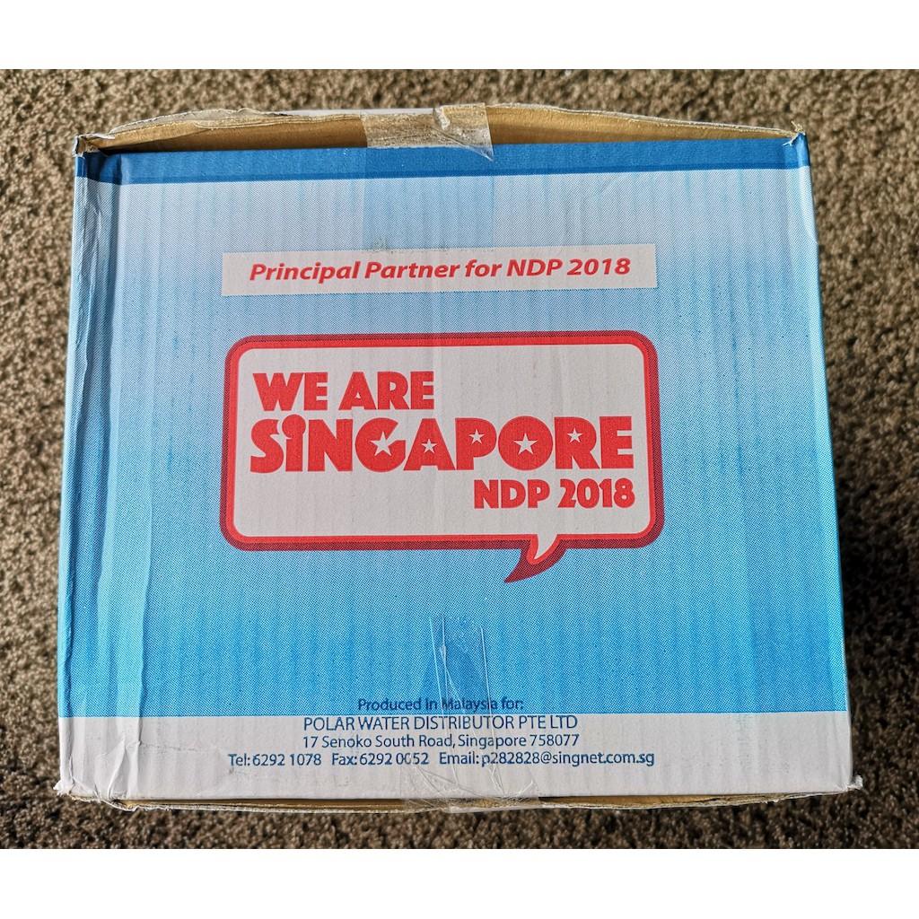 Polar Natural Mineral Water 24x600ML | Shopee Singapore