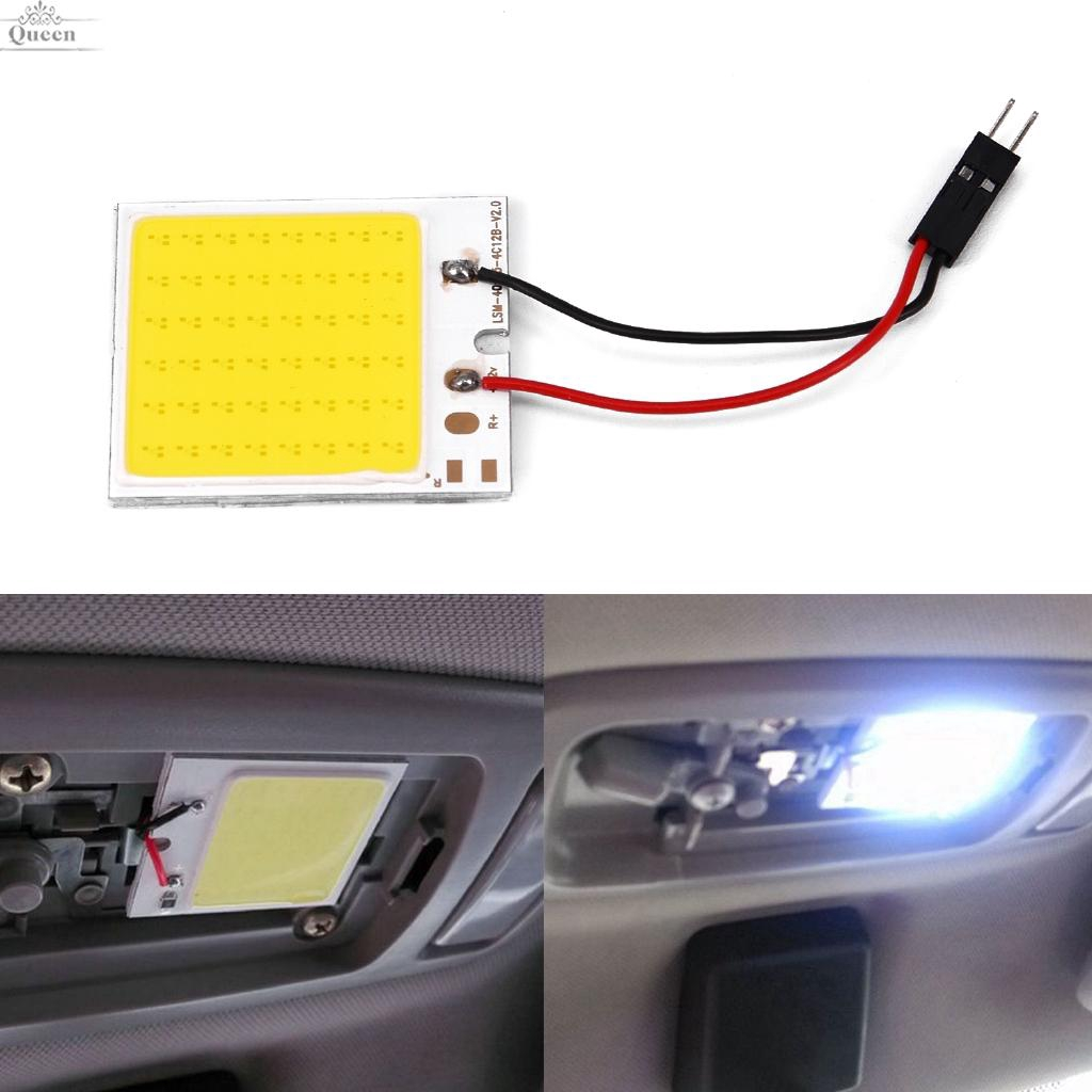 Electric Vehicle Parts Atv,rv,boat & Other Vehicle 10 X 41mm 12 Smd Led Car Interior Festoon Dome Bulb Lamp Light 12v 2.5*1*4.1cm