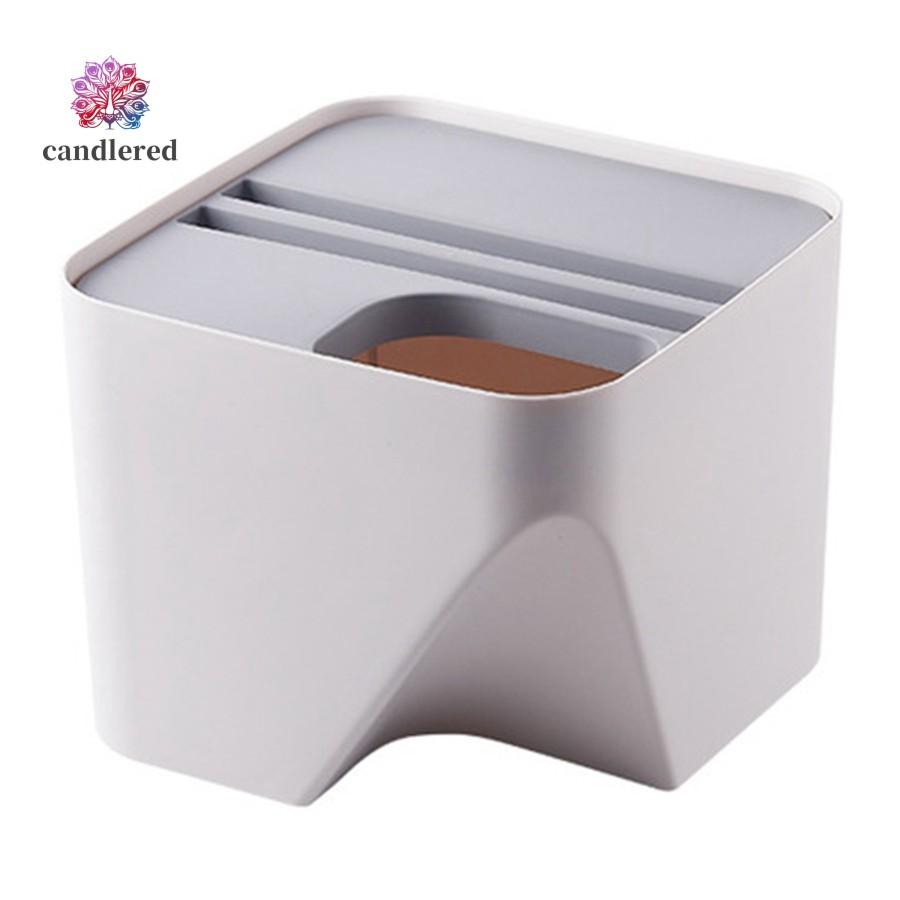 Kitchen Trash Can Stacked Trash Bin Recycling Bin For Bathroom Gray S Shopee Singapore