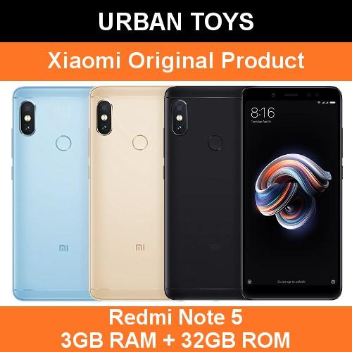 Xiaomi Redmi Note 5 / 3GB + 32GB / AI Dual Camera / Selfie / MIUI 9