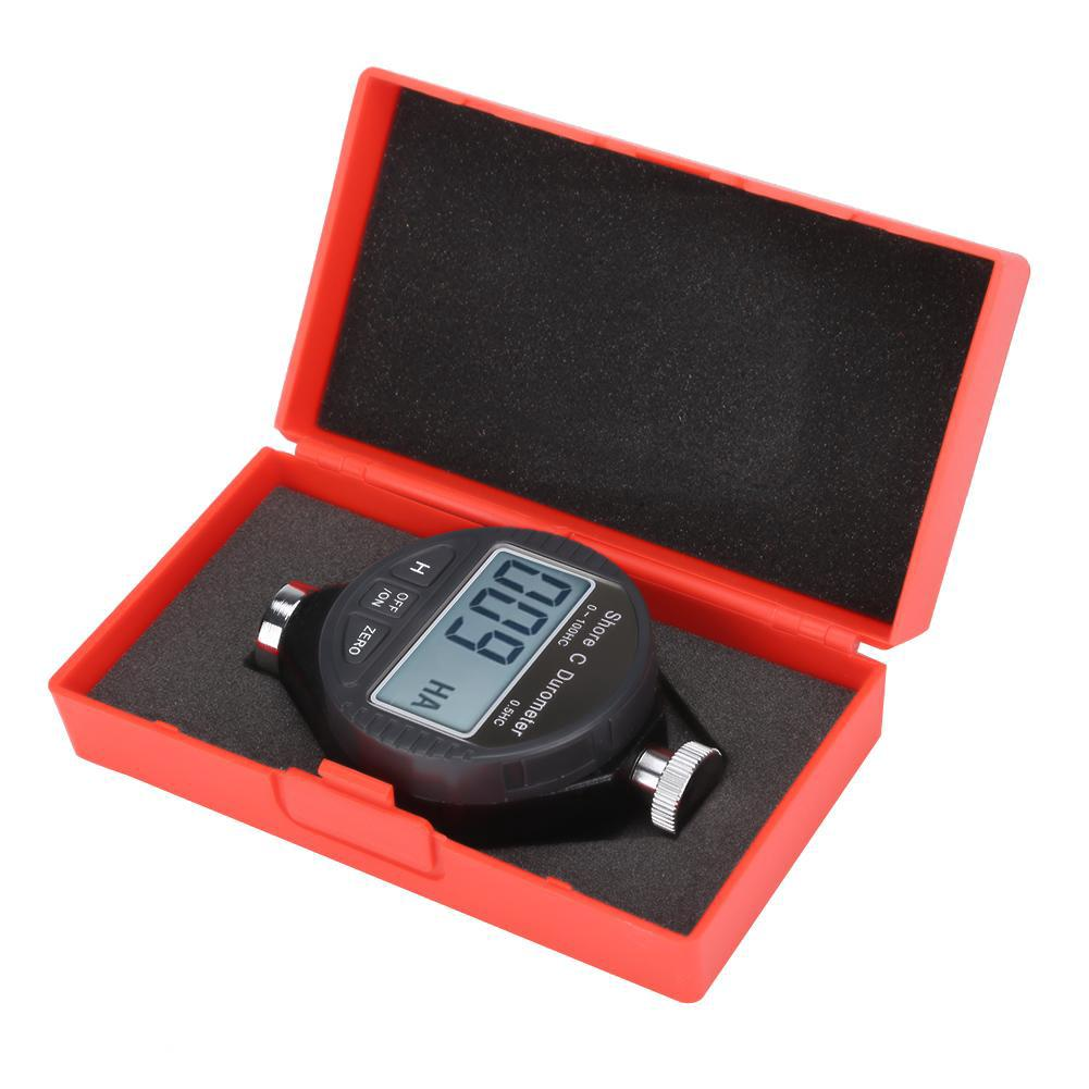 New Calibrated Shore Type D Rubber Tire Tyre Meter Durometer Hardness Tester tn