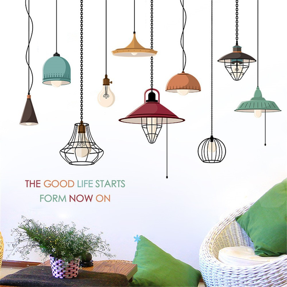 Diy Chandelier Removable Wall Decal