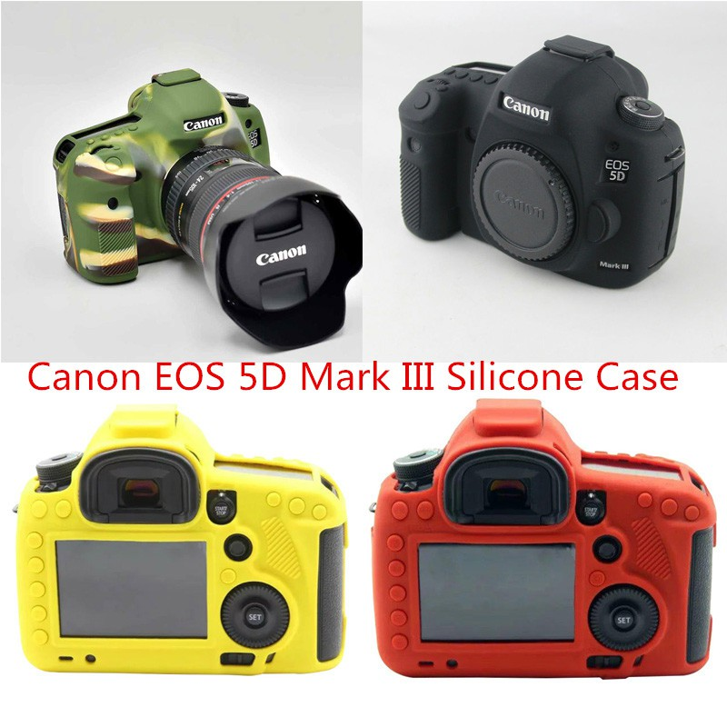 c131bcdd9 Soft Silicone Case For Canon 6DII 6D2 6D Mark II 2 Camera Protective Cover