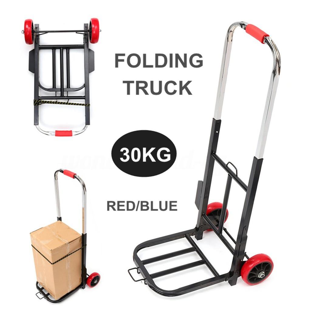 K-One Heavy Duty Folding Aluminium Trolley Multi Purpose Barrow Sack Hand Truck