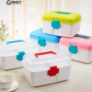GH Multipurpose Handled Medicine Organizer Best Box Plastic