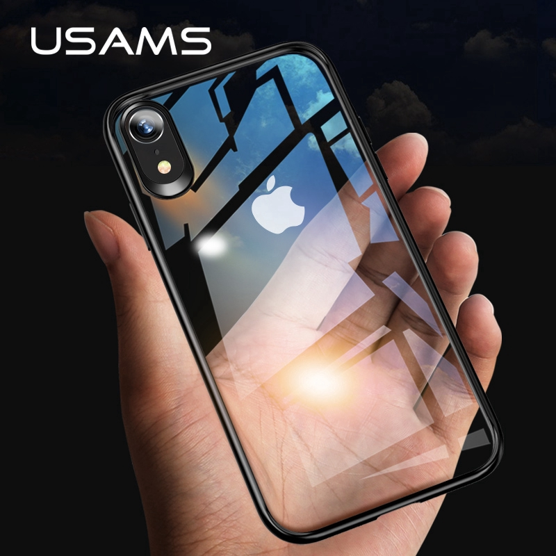 78878c66c1a31e USAMS iPhone XR XS MAX Case Cover Full Protective TPU PC Transparent Back  Shell   Shopee Singapore