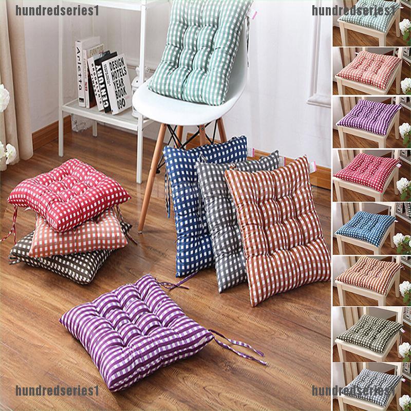 Garden Patio Chair Office Seat Pads Tie