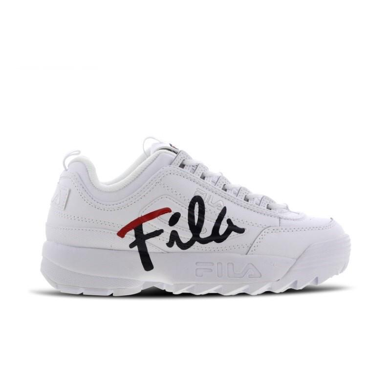SHOES Fila Disruptor II Script 5FM00403-125 Women shoes Running ...