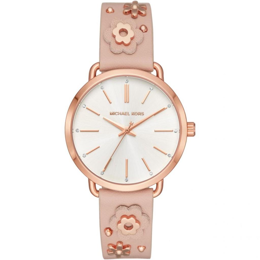 3c47c1ddc490 Michael Kors Jaryn Pavé Rose Gold-Tone Watch MK3785