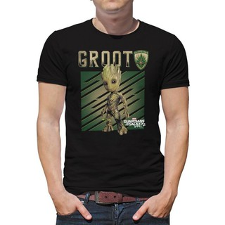 Marvel Fille Guardians of the Galaxy Neon Groot T-Shirt