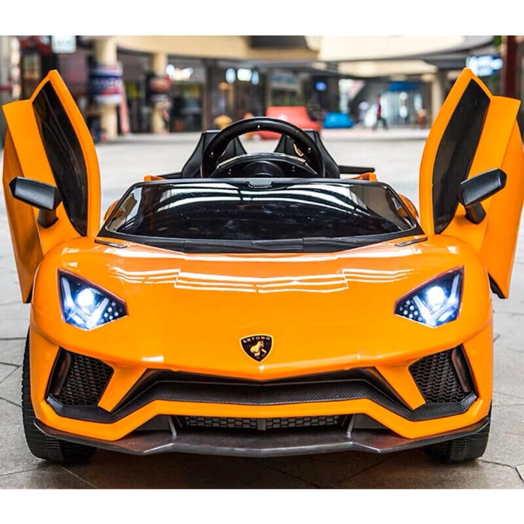 Lamborghini Kids Electric Car With Remote Control Kid Ride Kid Drive On Car Pedal Control Kid Car Shopee Singapore