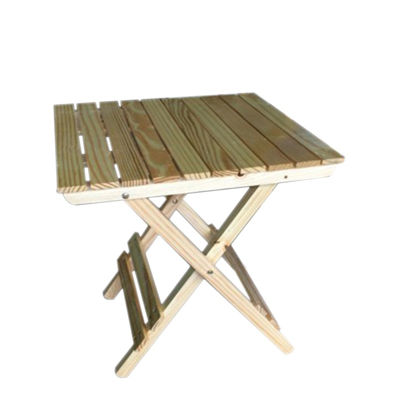 Solid Wood Folding Table Simple Folding Small Square Table
