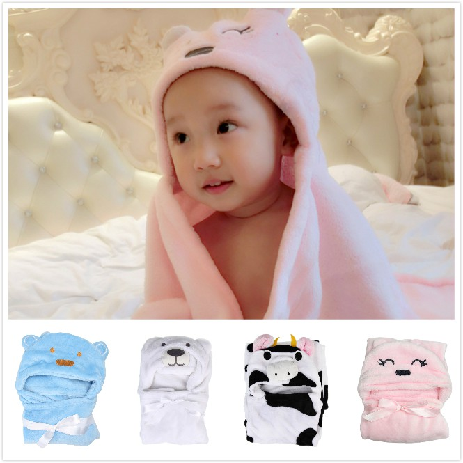Fast Deliver New 1 Pc Cotton Baby Towel Absorb Sweat Back Towel Perspiration Wipes Reusable Random Expression Baby Towels Bath & Shower Product Towels