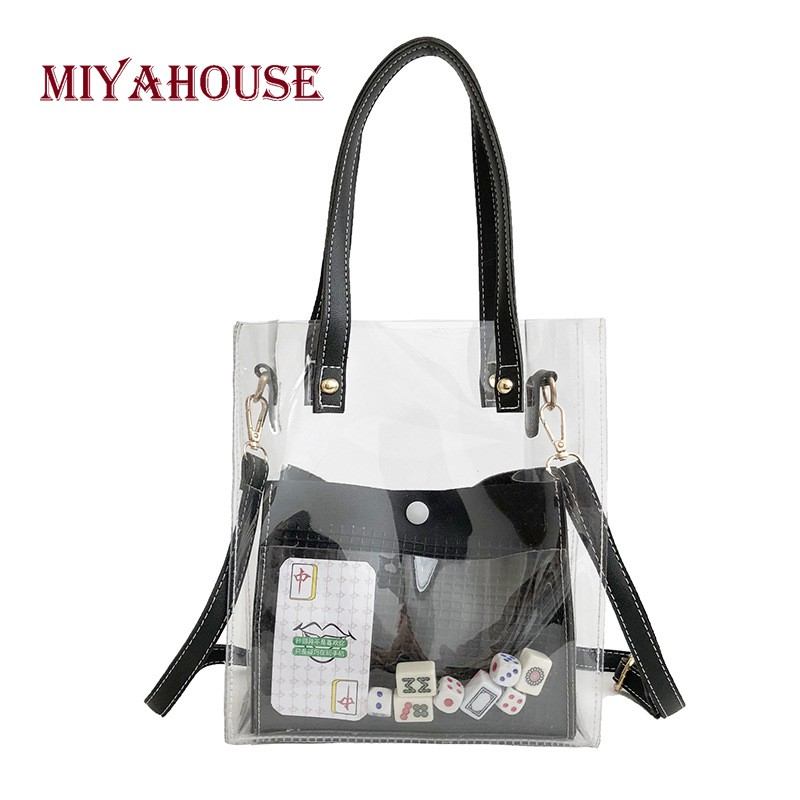 transparent tote - Price and Deals - Women s Bags Mar 2019  23b4949ef43a