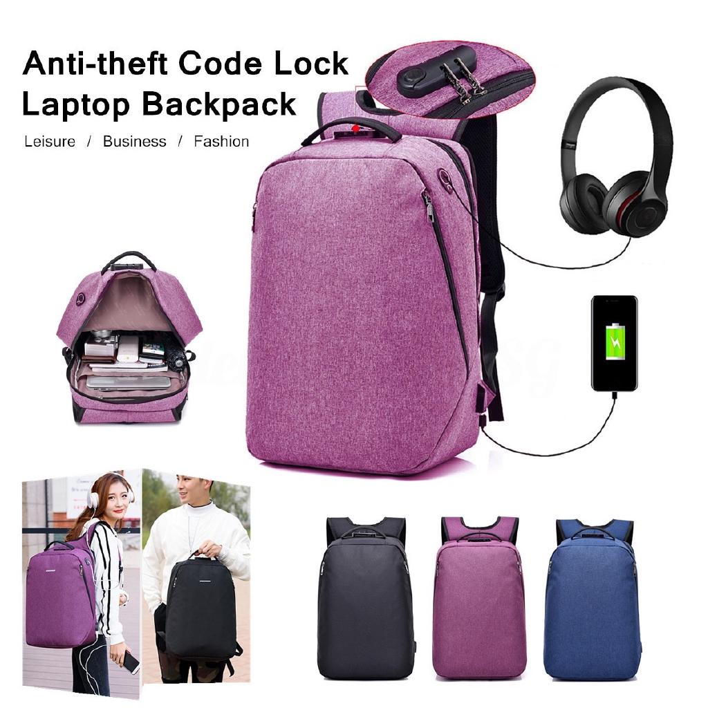 ef86d0385649 Backpack Men Laptop Anti-theft Notebook School Bag