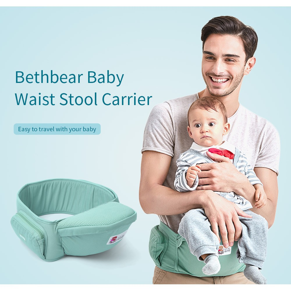 684d5d2c3cb HW Bethbear 1825 Hip Seat Newborn Waist Stool Baby Carrier Infant Sling  Backpack