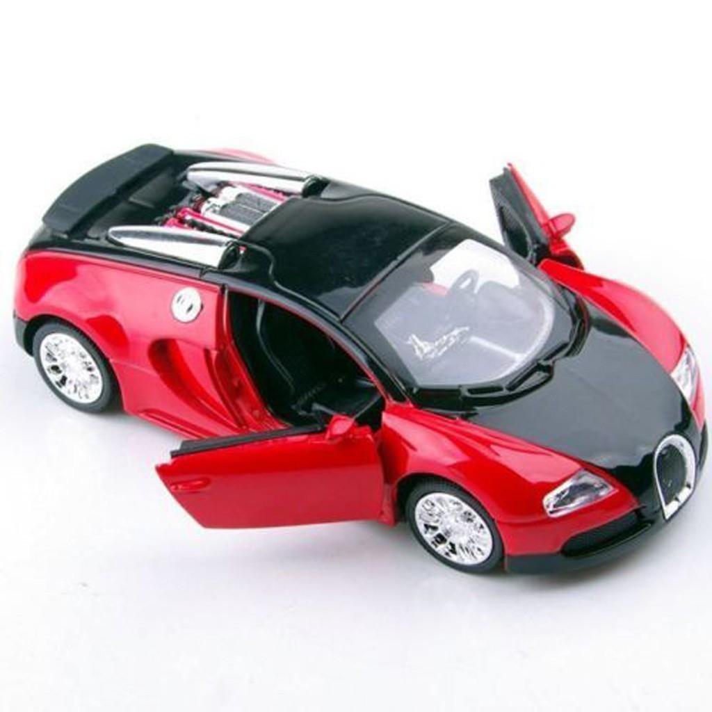 1 36 Bugatti Veyron W Sound Light Diecast Car Toy Model Vehicle Gift