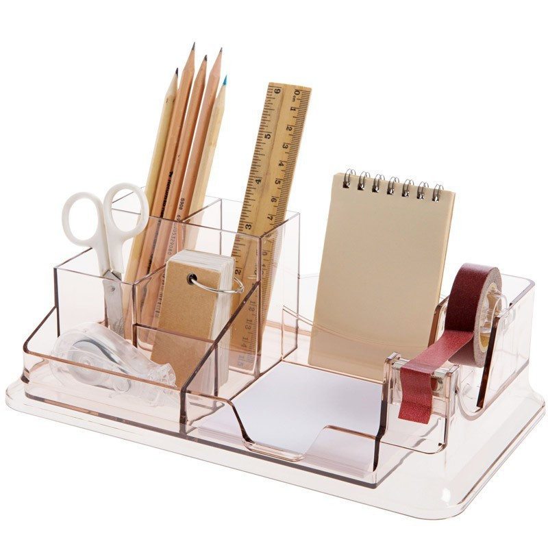 1PC Durable Practical Ins Style Hexagonal Combination Pen Holder Office Supplies
