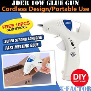 Cordless Glue Gun (Free 10 Pieces Glue Stick)   Shopee