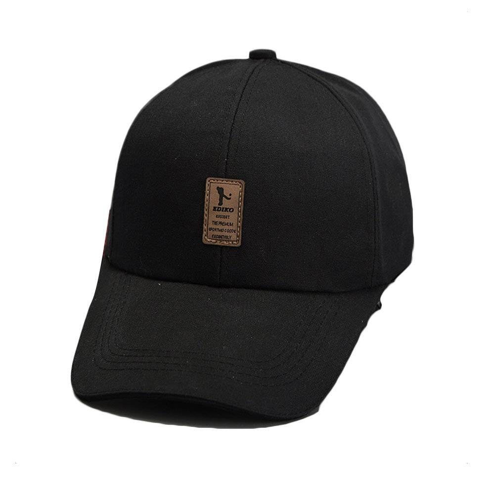 7b659ce140c Girls baseball cap solid outdoor sports duck tongue sun hat- Patch EDIKO