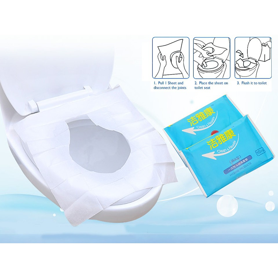 Astounding Disposable Toilet Seat Cover 10Pcs Pack Buy 10 Get 1 Free Alphanode Cool Chair Designs And Ideas Alphanodeonline
