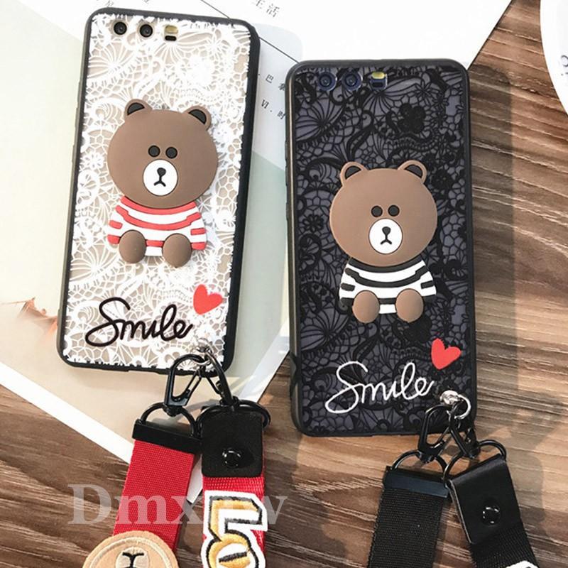 For Huawei Nova 2 2i Plus 2s 2 Lite Smart Case 3D Lace Case