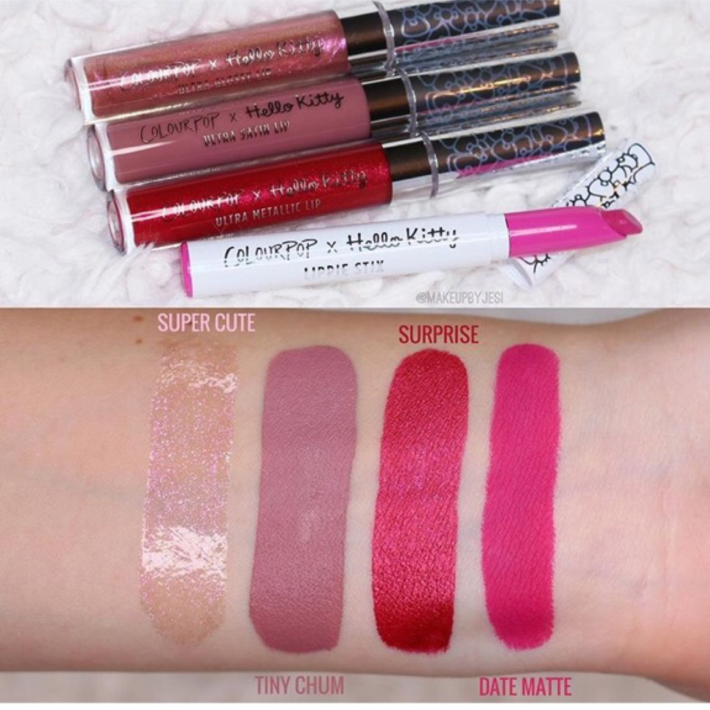 d9f92959b COLOURPOP X HELLO KITTY LIP PRODUCTS | Shopee Singapore
