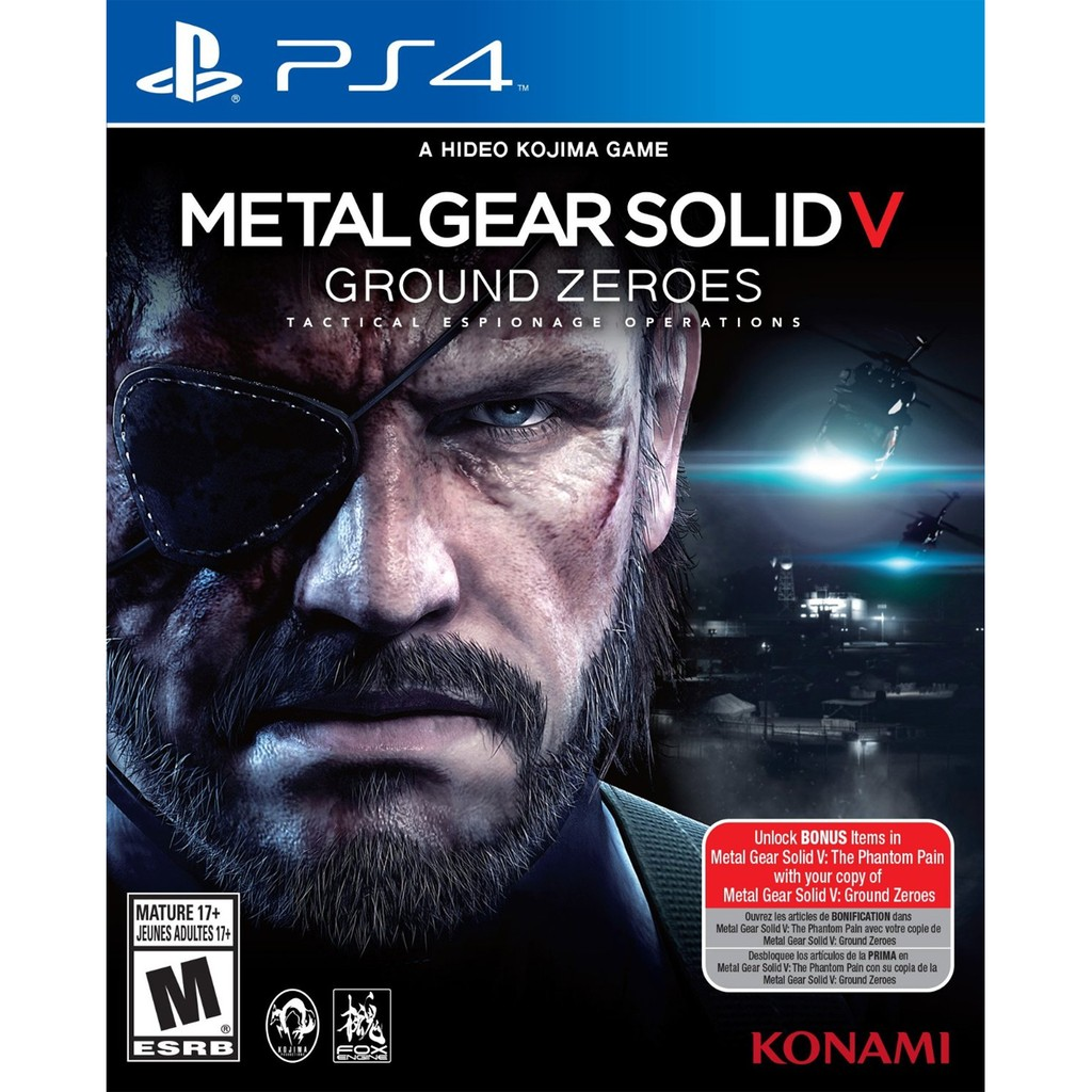 Ps4 Metal Gear Solid 5 The Definitive Experience Shopee Singapore Game V