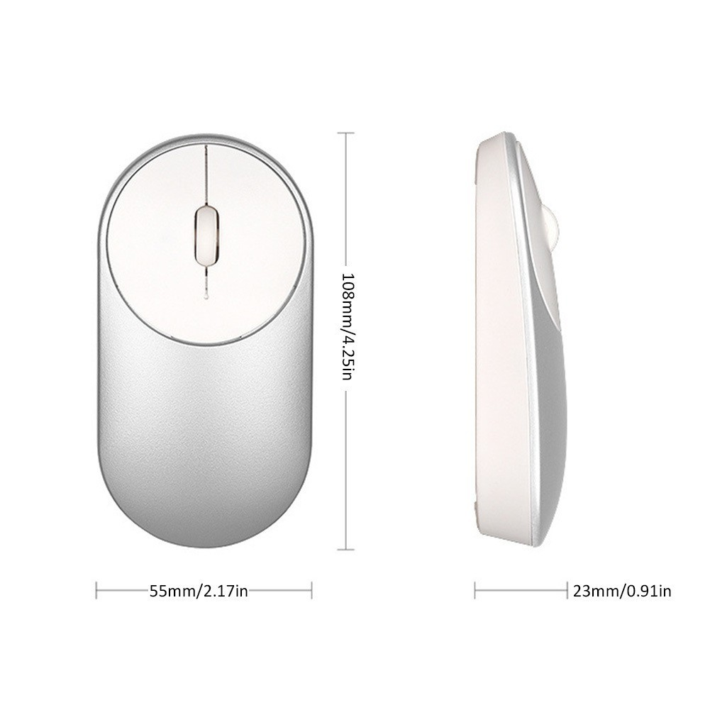 Xiaomi Mi Wireless Mouse Mice Bluetooth 40 24g Dual Shopee Singapore With Mode Connection