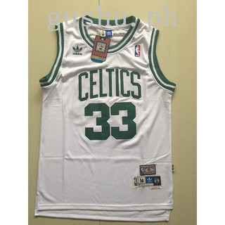 detailed look 957ab 3b69f NBA Jersey Celtic Celtic Green Army Larry Bird 33rd Bird Big ...