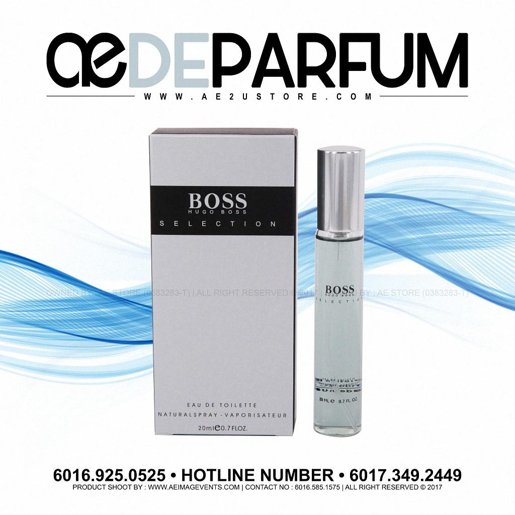Perfume 20ml Selection By Hugo Boss Edt Shopee Singapore