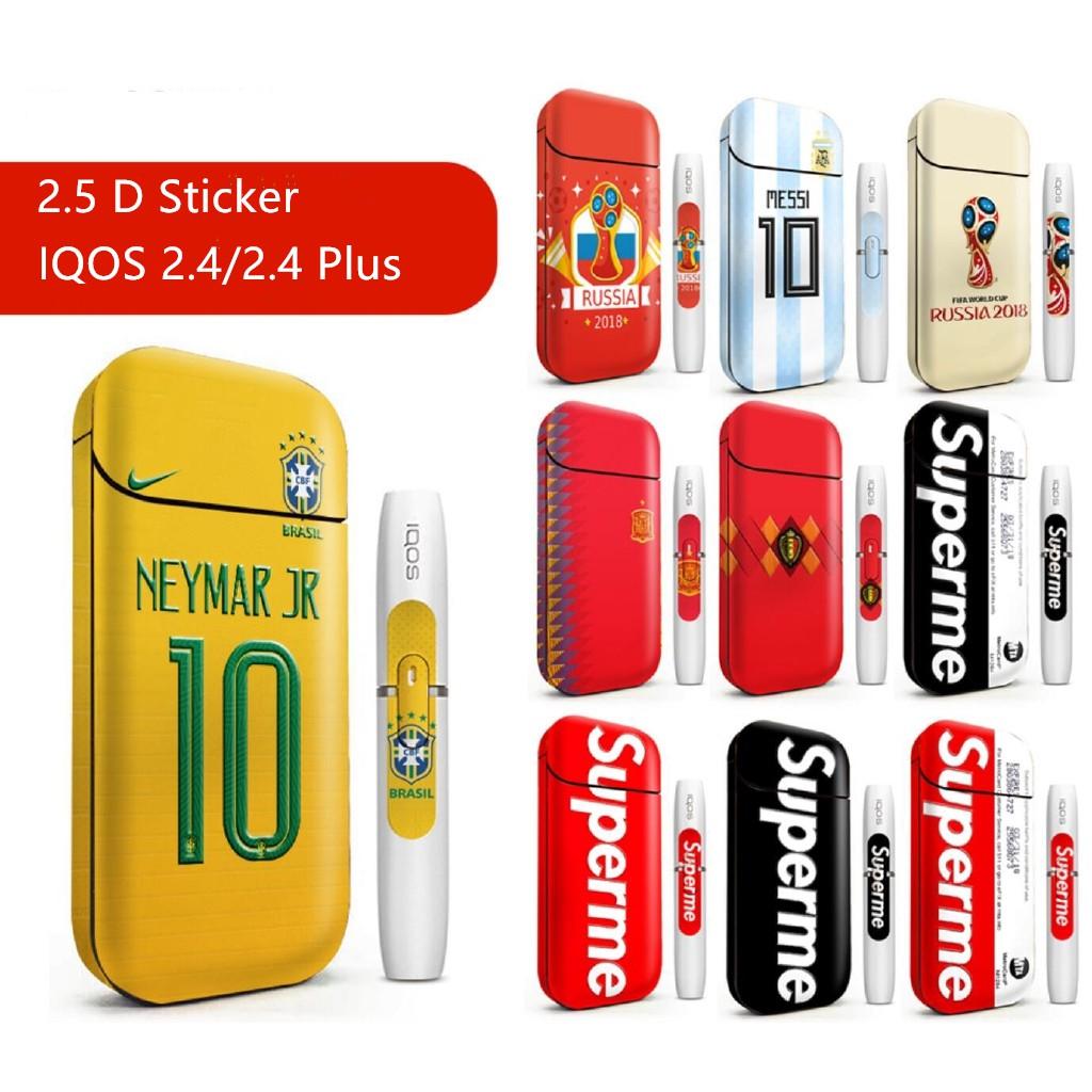 IQOS 2 4/2 4 Plus Fashion 2 5D Skin Sticker for IQOS 2/3