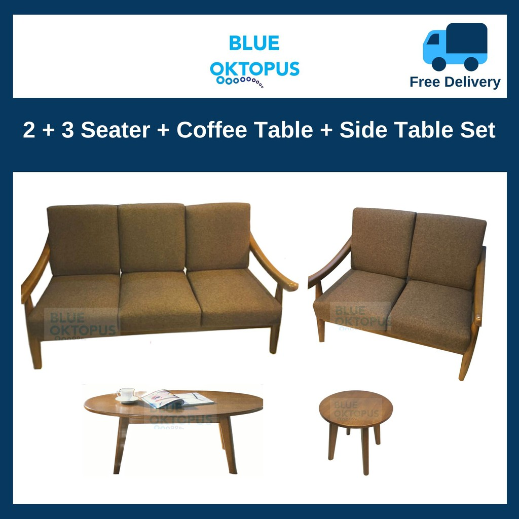 Picture of: 2 3 Coffee Table Side Table Sofa Set Shopee Singapore