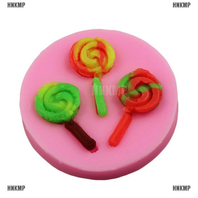 Lollipop Ice cream Biscuit Cookie Cutter Fondant Cake Decorating Mold