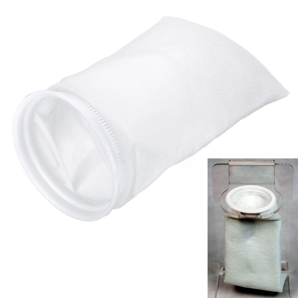 Nylon Fish Tank Filter Sump Pouch Micron Bag Weight Aquarium Filter Socks Tool*1