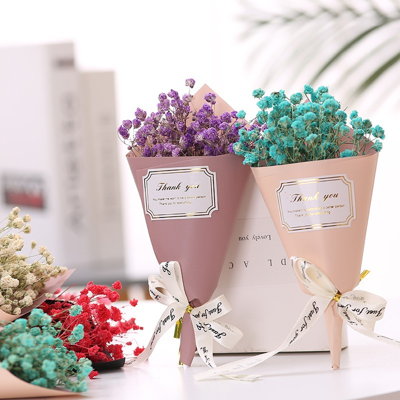 1 Bouquet Gypsophila Dried Flower With Mini Bouquet Mother S Day Gift Small Dry Bouquet Activity Giveaway Photo Props Shopee Singapore
