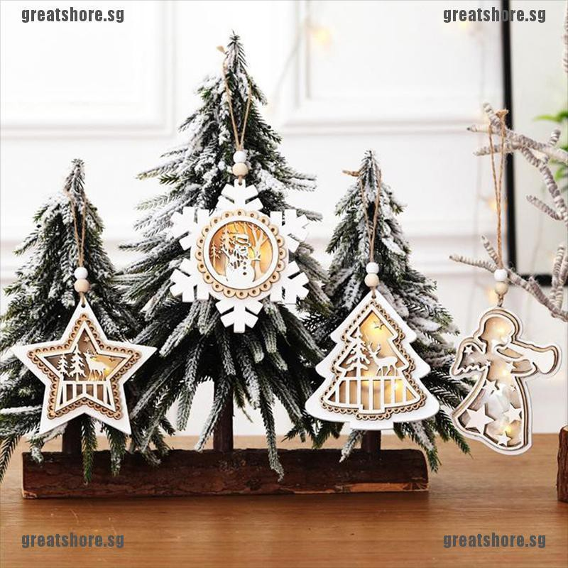 Christmas Pendants Luminous Xmas Tree