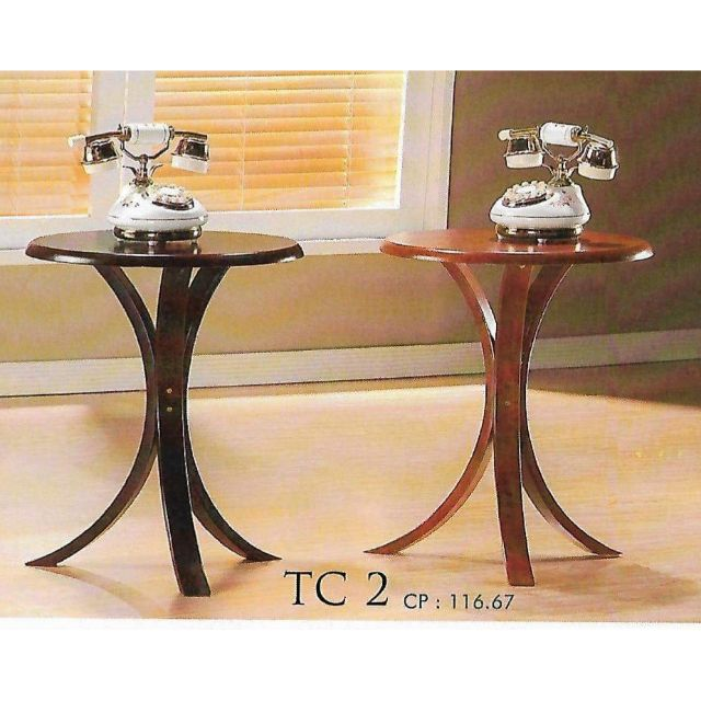 Small Wooden Round Table Coffee