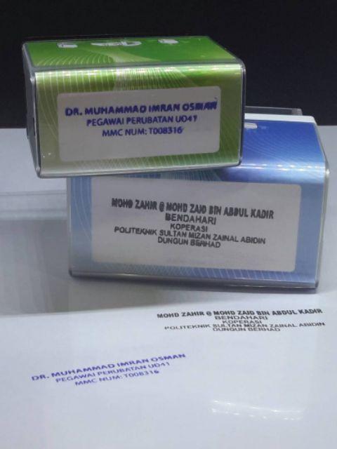 Stamp Cop Syarikat Colop Beserta Ink Shopee Singapore