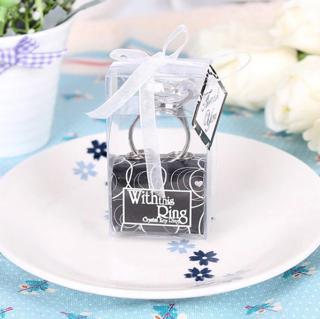 Wedding Favors Door Gifts Souvenir Diamond Ring Key Chain