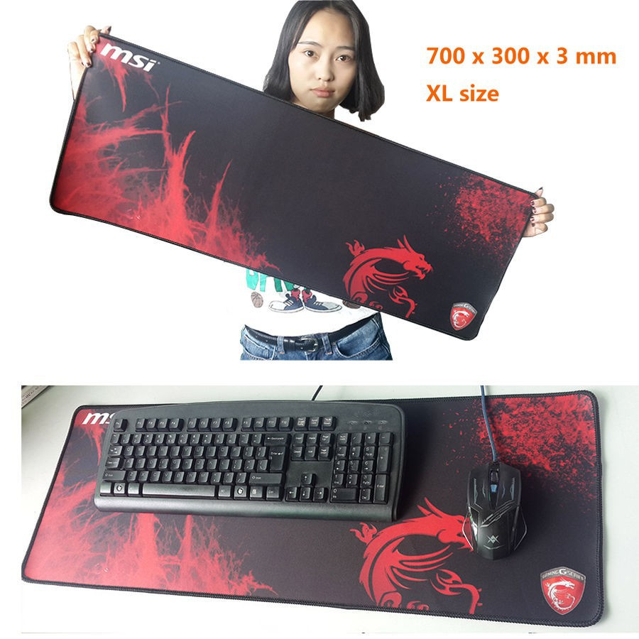 700*300*3MM Tape Edge Large Game Mouse Pad Rubber Razer Speed//Controls Edition
