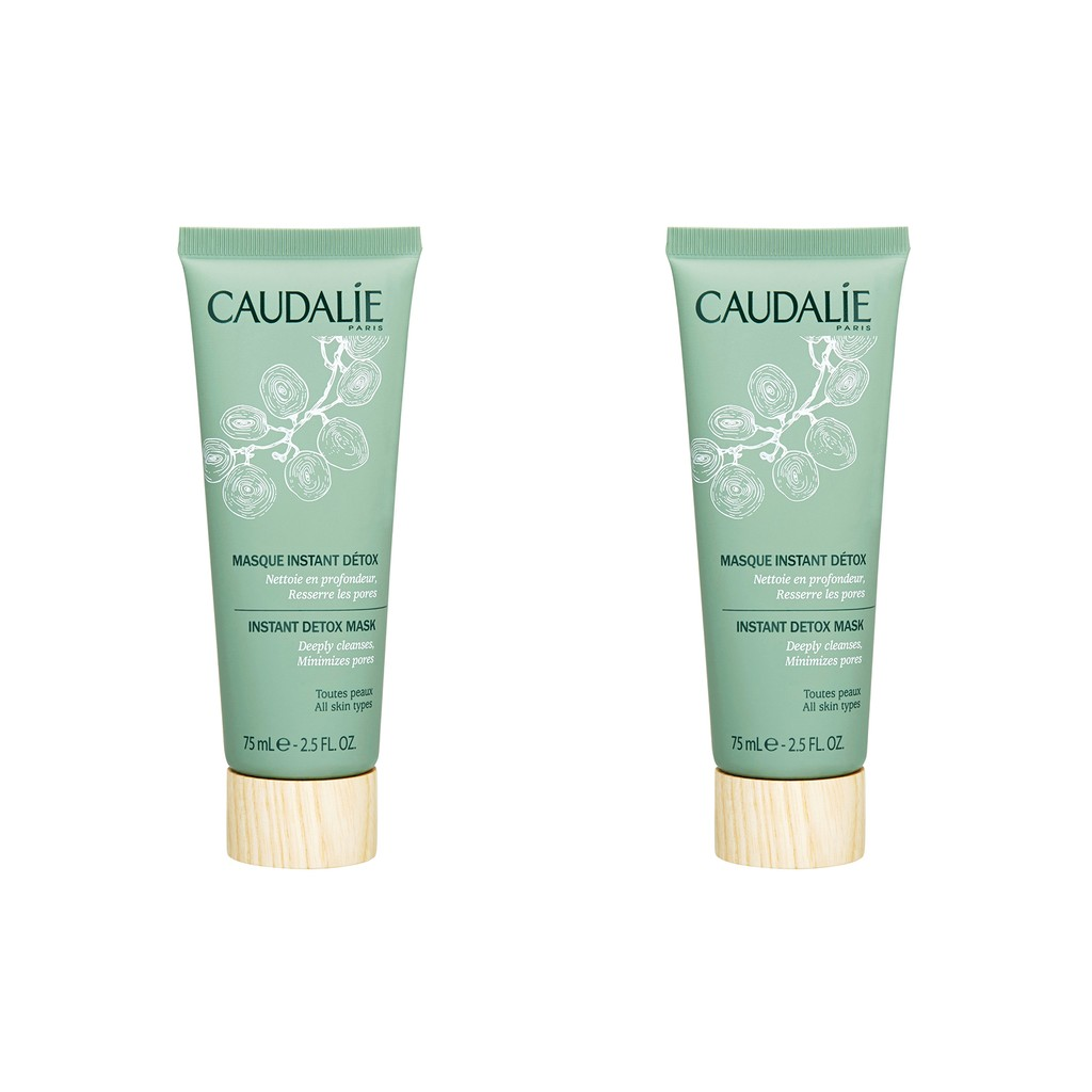Detox Scrub Cleanser (salon Size)  100ml/3.61oz Durance - Apricot Moisturizing Face Mask - 75ml/2.5oz