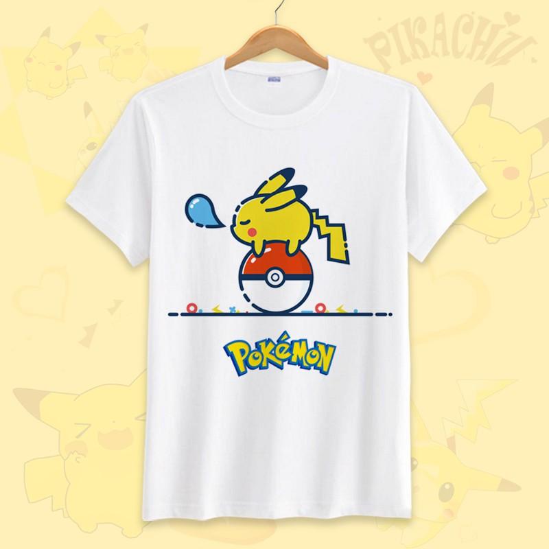New Pokemon Pikachu shirt boys sizes XS S M L XL XXL Pokemon Pikachu shirt boys