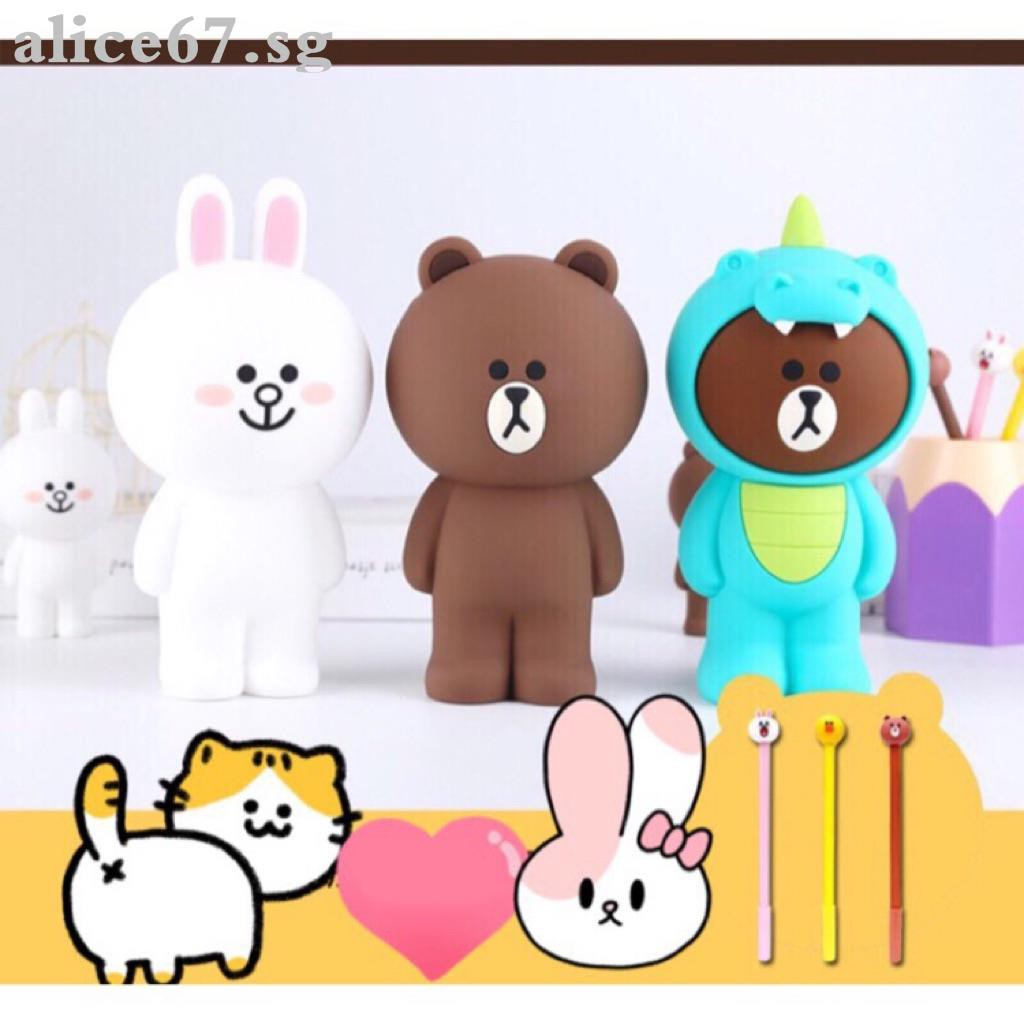 Cartoon We Bare Bears For Xiaomi Redmi Note3 Note2 Note 1s 2 3s 4x 5 Mao Squishy Cute Rabbit Plus Case Shopee Singapore
