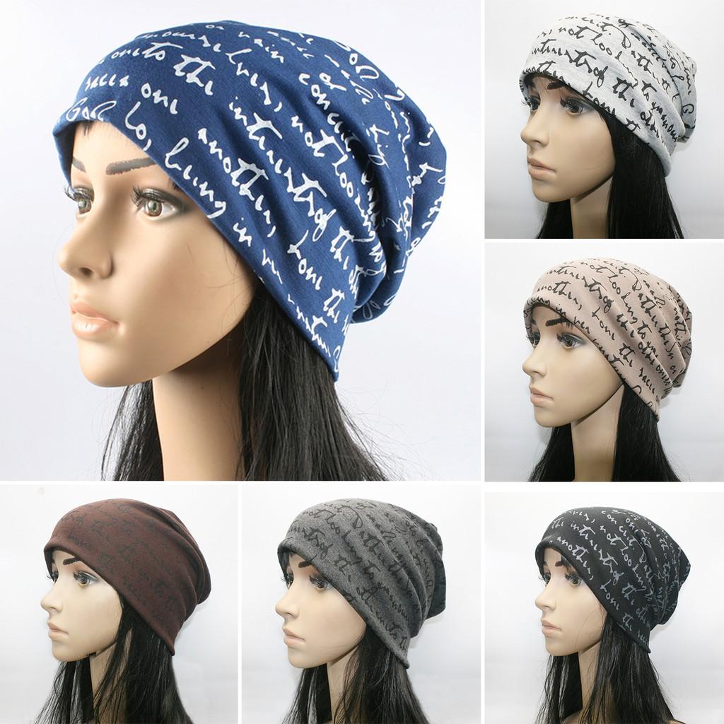 Unisex Men Women Beanie Hat Cotton Warm Slouch Baggy Cap Casual Ski Hip Hop Caps