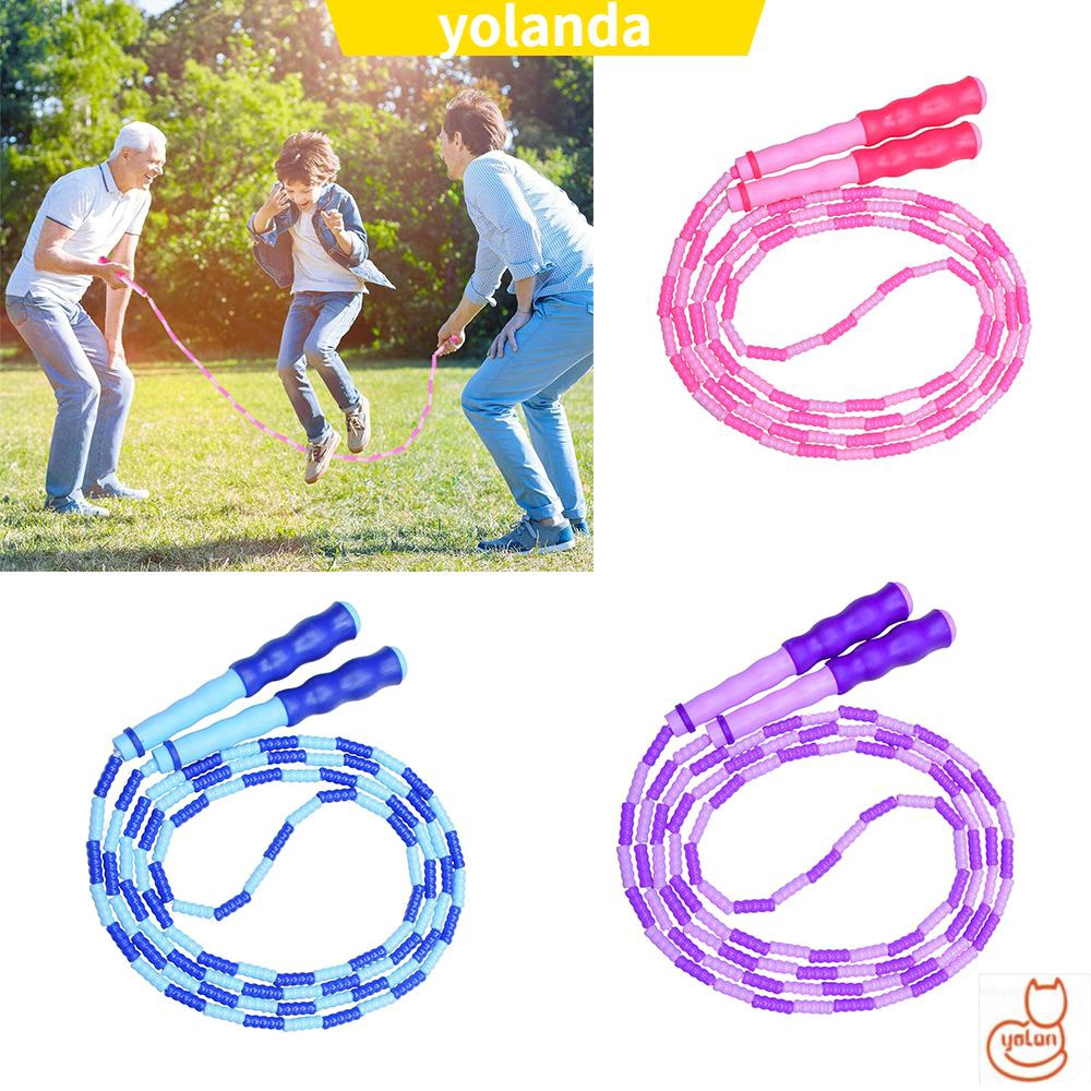 Princess Jump Rope -Girls Jump Skipping Exercise Rope Purple Kids Activity 3+