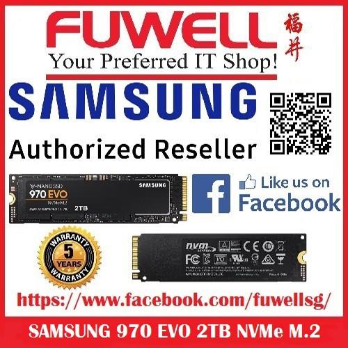 Samsung 970 EVO 2TB V-NAND M 2 SSD NVMe 1 3 Pheonix