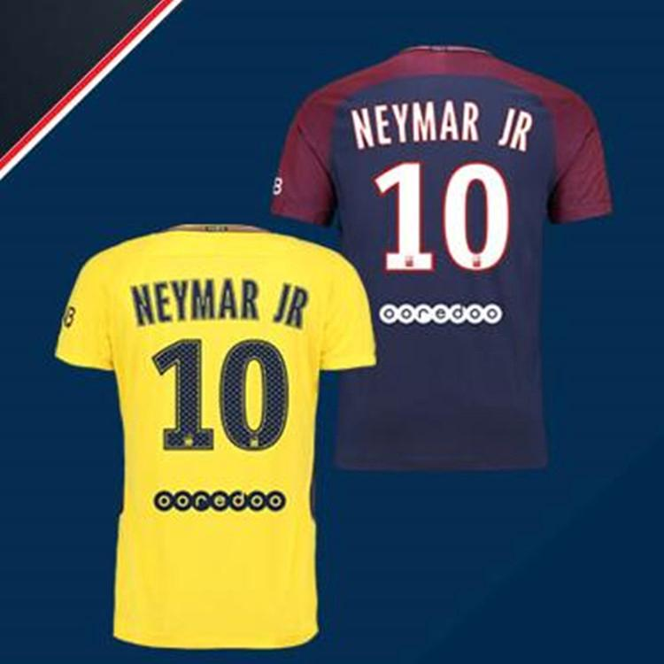 brand new 2d37a f86de ❖☇Paris Saint-Germain football jersey 17-18 season ...